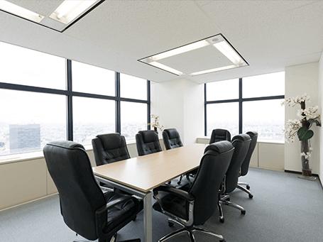 東京法律事務所応接室